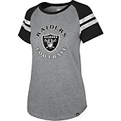 '47 Women's Las Vegas Raiders Fly Out Raglan T-Shirt