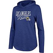 '47 Women's Los Angeles Rams Club Legacy Royal Hooded Long Sleeve Shirt