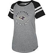 '47 Women's Baltimore Ravens Fly Out Raglan T-Shirt