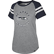'47 Women's Seattle Seahawks Fly Out Raglan T-Shirt