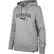 '47 Women's Seattle Seahawks Go Ahead Grey Hoodie
