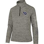 '47 Women's Tennessee Titans Impact Grey Quarter-Zip Pullover