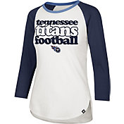 '47 Women's Tennessee Titans Retro Stock Throwback Raglan Shirt