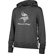 '47 Women's Minnesota Vikings Side Lace Black Hoodie