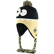 '47 Youth New Orleans Saints Hammerhead Black Knit Trapper