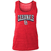 New Era Women's St. Louis Cardinals Tri-Blend Tank Top