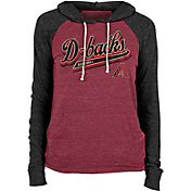 New Era Women's Arizona Diamondbacks Maroon Tri-Blend Pullover Hoodie
