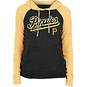 New Era Women's Pittsburgh Pirates Black Tri-Blend Pullover Hoodie