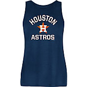 New Era Women's Houston Astros Navy Rayon Spandex Tank Top