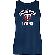 New Era Women's Minnesota Twins Navy Rayon Spandex Tank Top