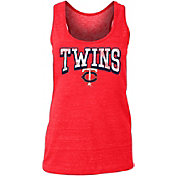 New Era Women's Minnesota Twins Tri-Blend Tank Top