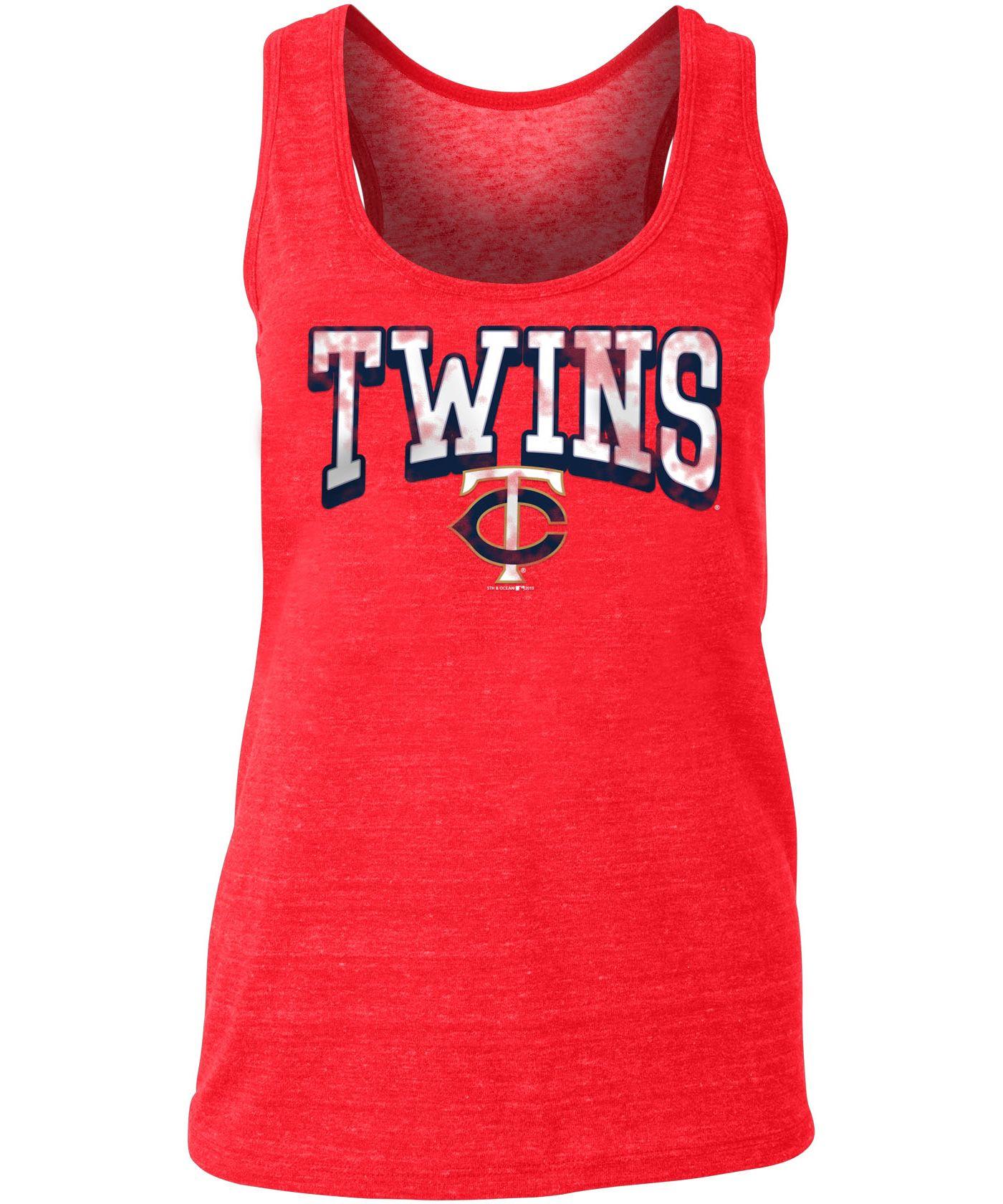 New Era Women's Minnesota Twins Tri-Blend Tank Top