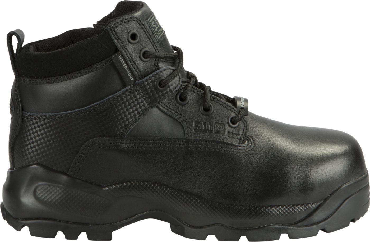 5.11 Tactical Men's A.T.A.C. Shield 6'' Side Zip Waterproof Tactical Boots