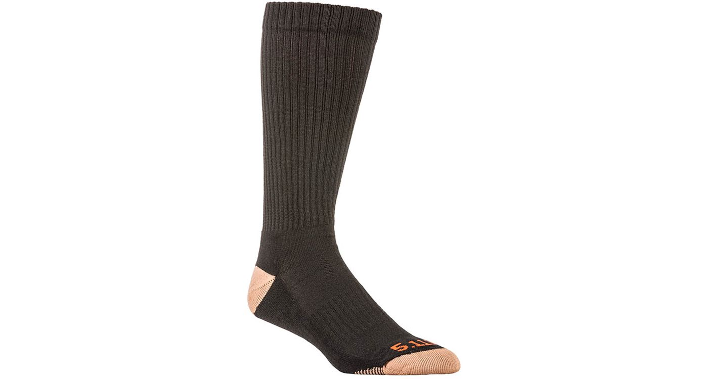 5.11 Tactical Adult Cupron Over the Calf Socks 3 Pack