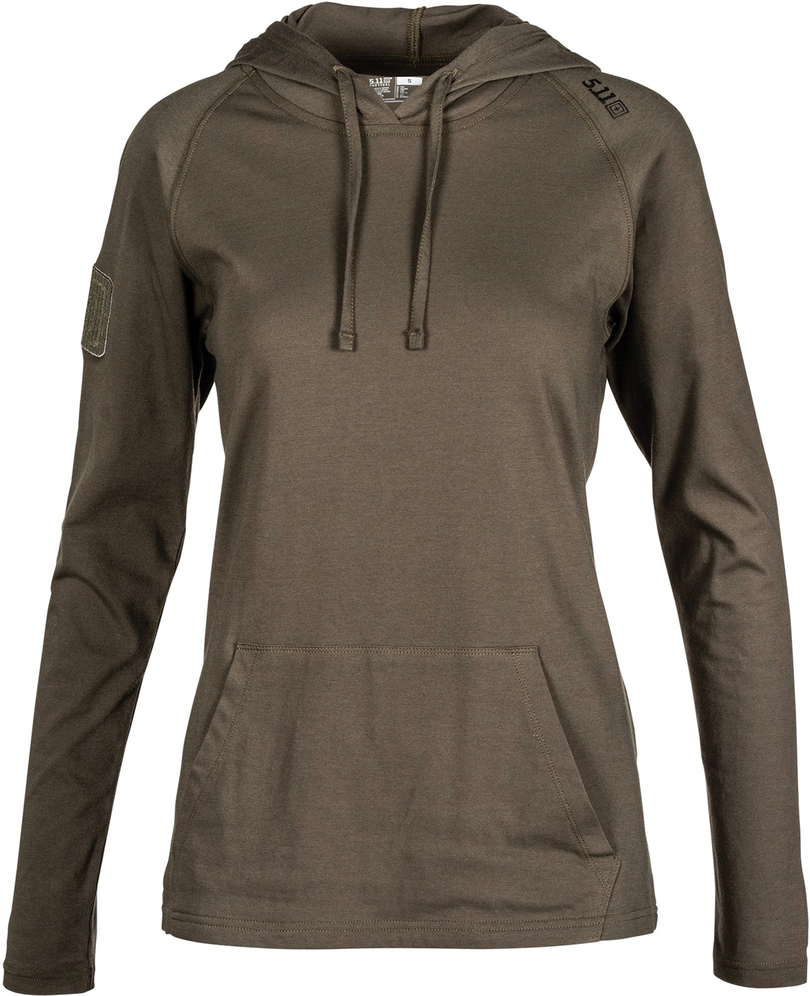 5.11 Tactical Women's Cruiser Performance Hoodie, Size: Medium, Gray thumbnail