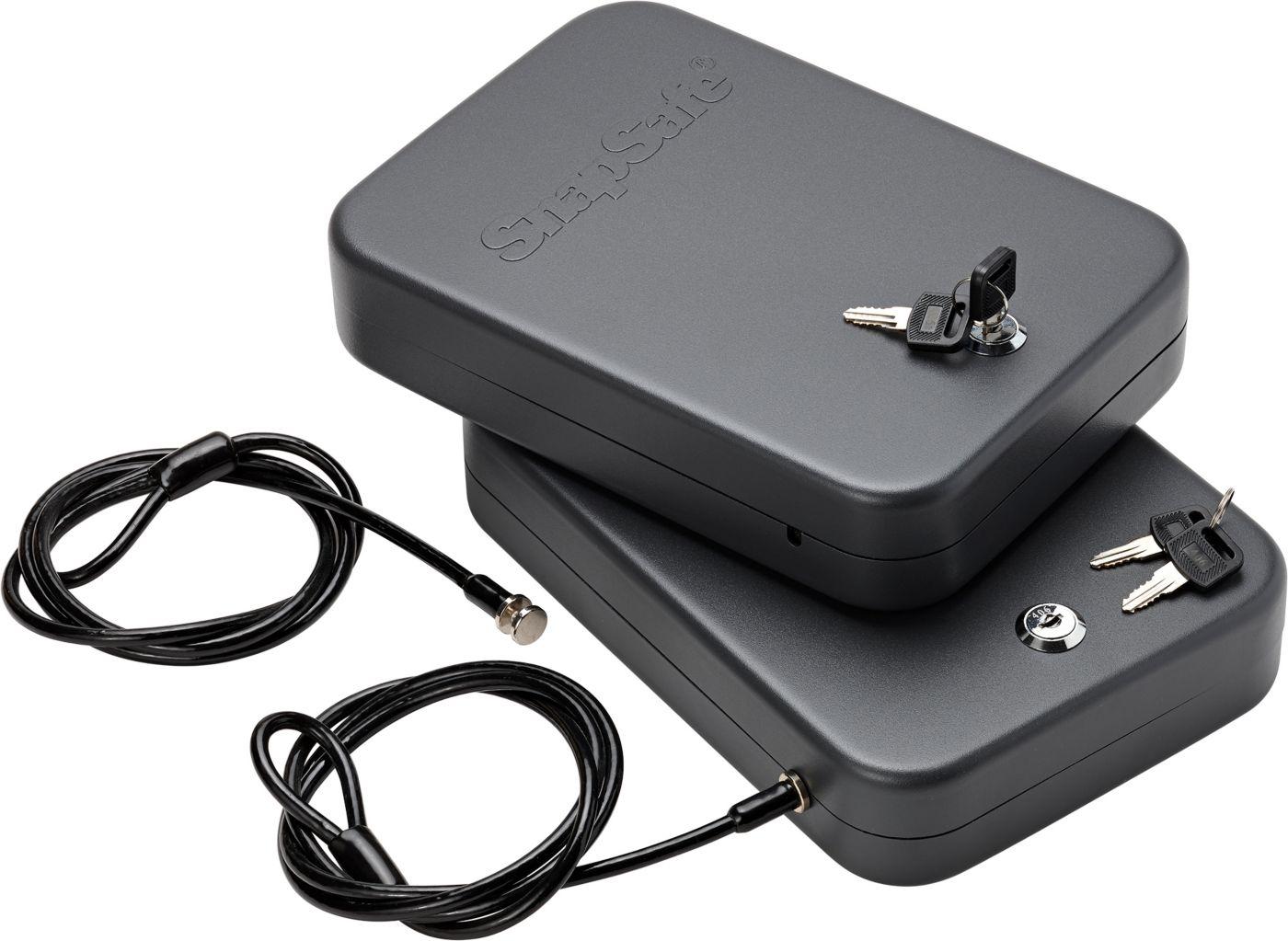 SnapSafe XL Lock Box with Key Lock – 2 Pack