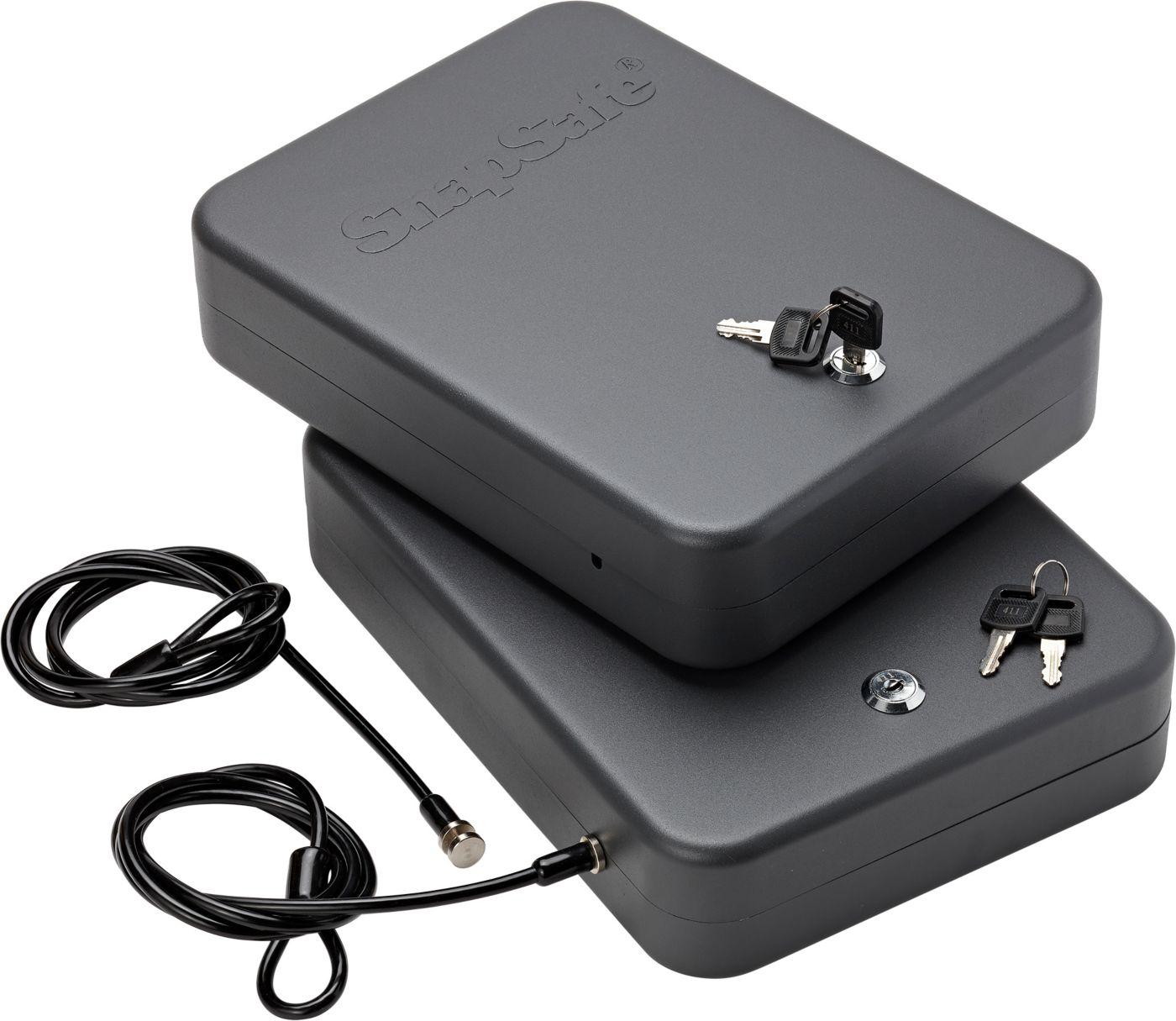 SnapSafe XXL Lock Box with Key Lock – 2 Pack