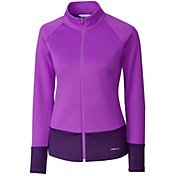 Cutter & Buck Women's Annika Interval Mock Golf Jacket
