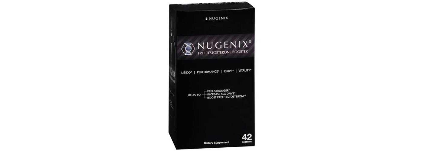 Nugenix Natural Testosterone Booster 42 Capsules