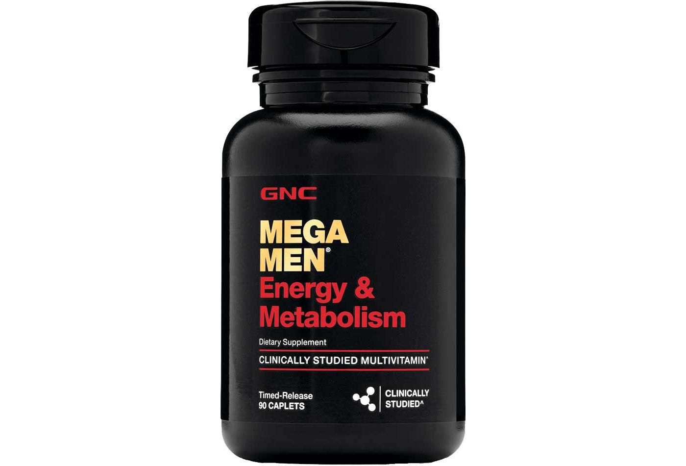 GNC Mega Men® Energy & Metabolism 90 Caplets