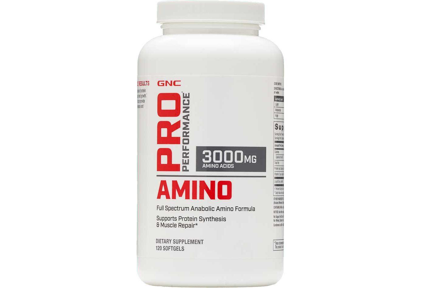 Pro Performance Amino 3000mg 120 Capsules