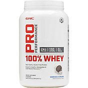 GNC Pro Performance 100% Whey Protein Cookies & Cream 25 Servings