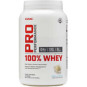 GNC Pro Performance 100% Whey Protein Vanilla Cream 25 Servings