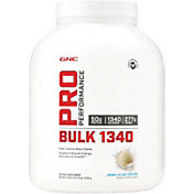 GNC Pro Performance Bulk 1340 Vanilla Ice Cream 7lbs