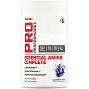 GNC Pro Performance Essential Amino Complete Blueberry Acai 30 Servings