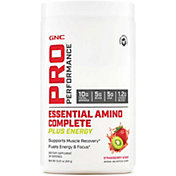 GNC Pro Performance Essential Amino Complete Plus Energy Strawberry Kiwi 30 Servings
