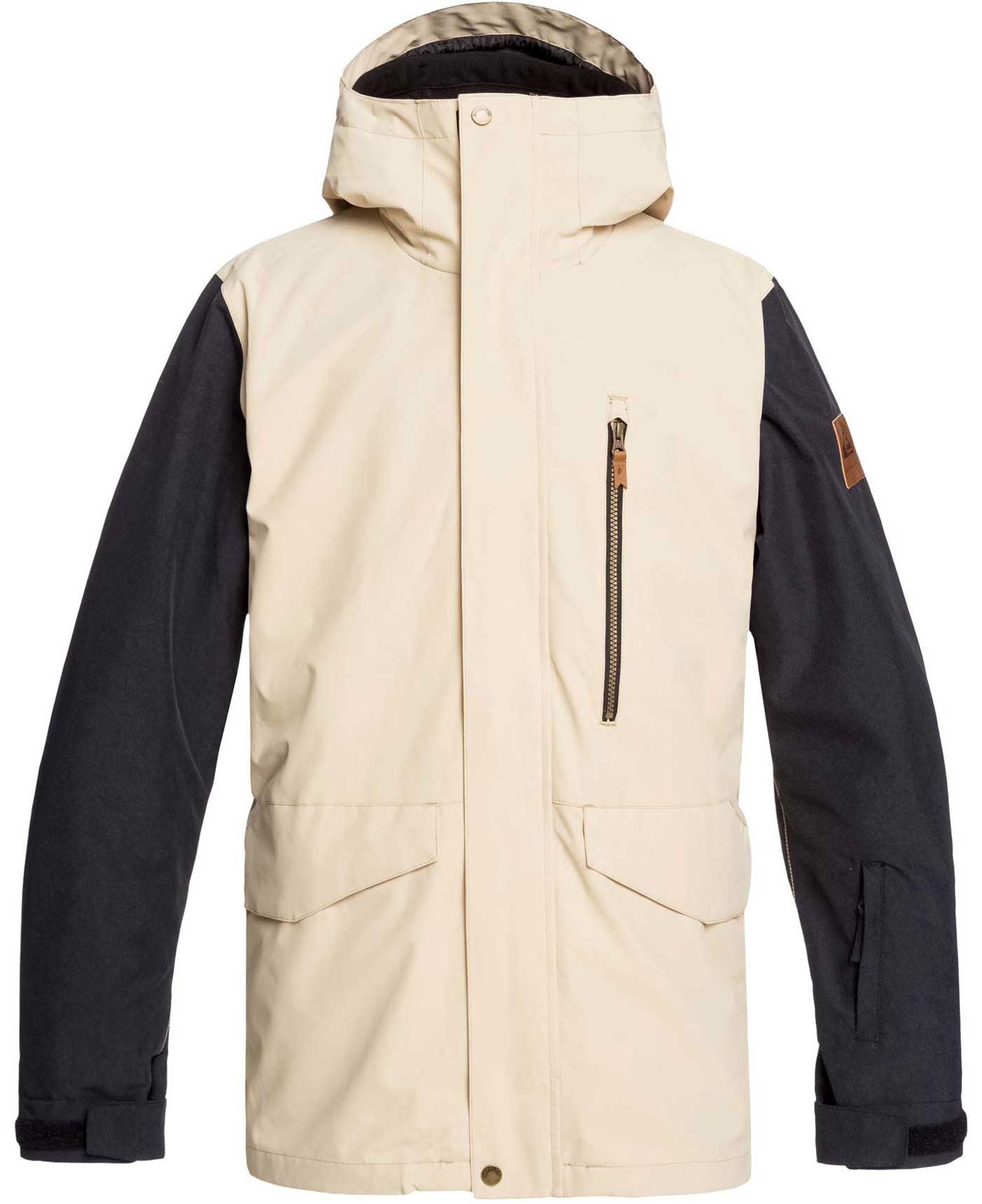 Quiksilver Men's Mission 3-in-1 Snow Jacket