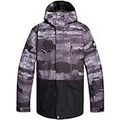Quiksilver Men's Mission Printed Block Snow Jacket