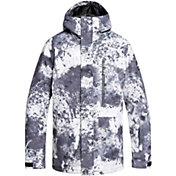 Quiksilver Men's Mission Printed Snow Jacket