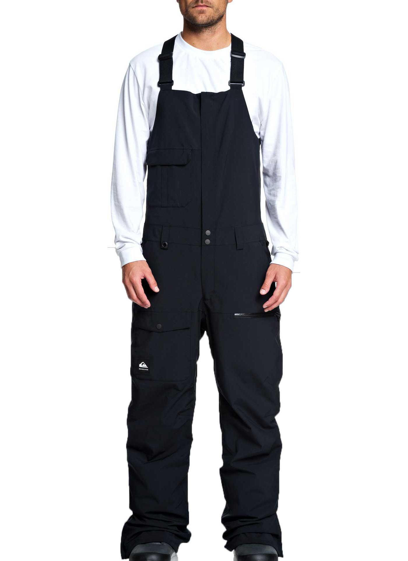 Quiksilver Men's Utility Snow Bib Pants