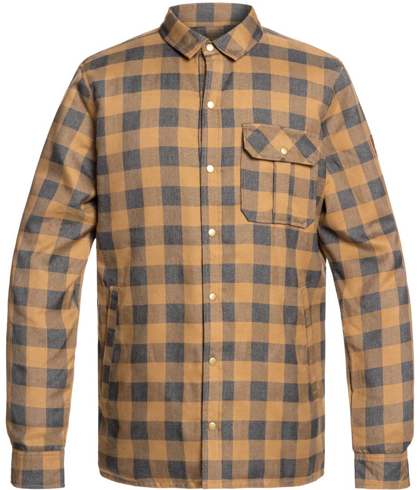 Quiksilver Men's Wildcard Reversible Flannel Shirt