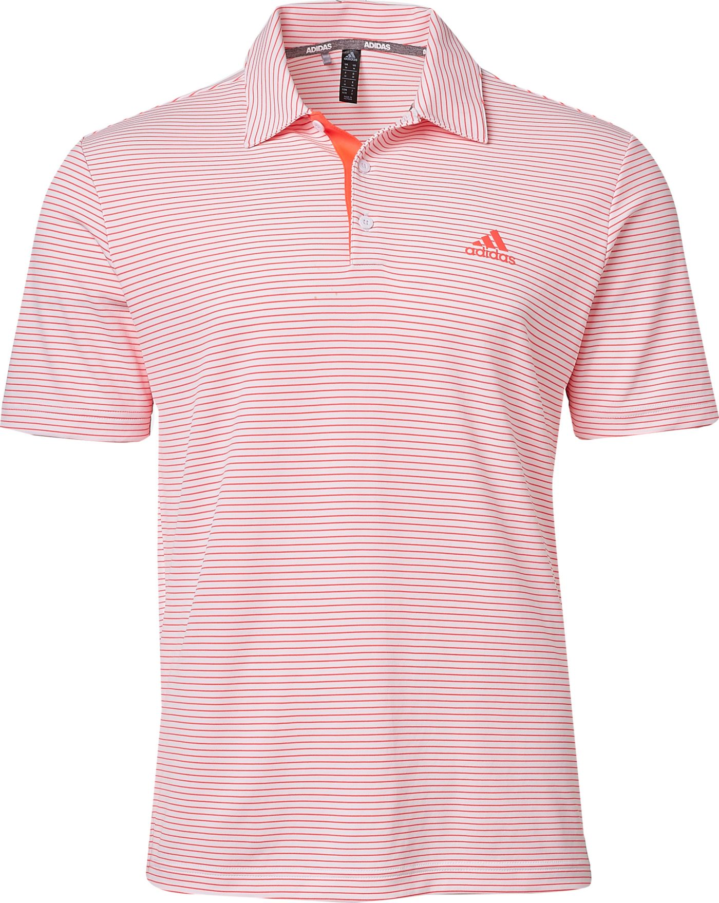 adidas Men's Drive 2 Color Stripe Golf Polo