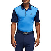 adidas Men's Ultimate365 Camo-Embossed Golf Polo
