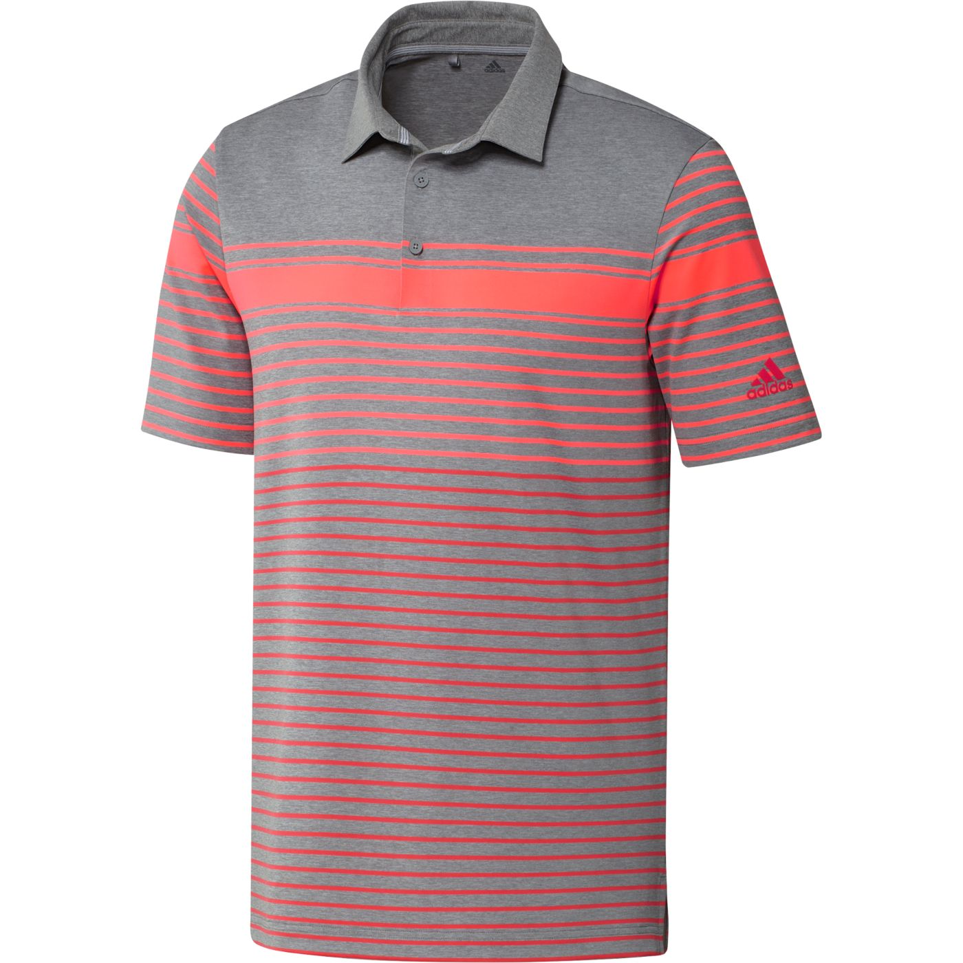 adidas Men's Ultimate365 Engineered Heather Golf Polo