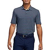 adidas Men's Ultimate365 Pencil Stripe Golf Polo