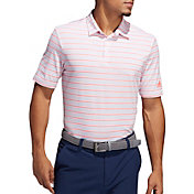adidas Men's Ultimate365 Pencil Stripe Golf Polo