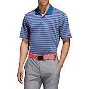 adidas Men's Ultimate365 Triple Stripe Golf Polo