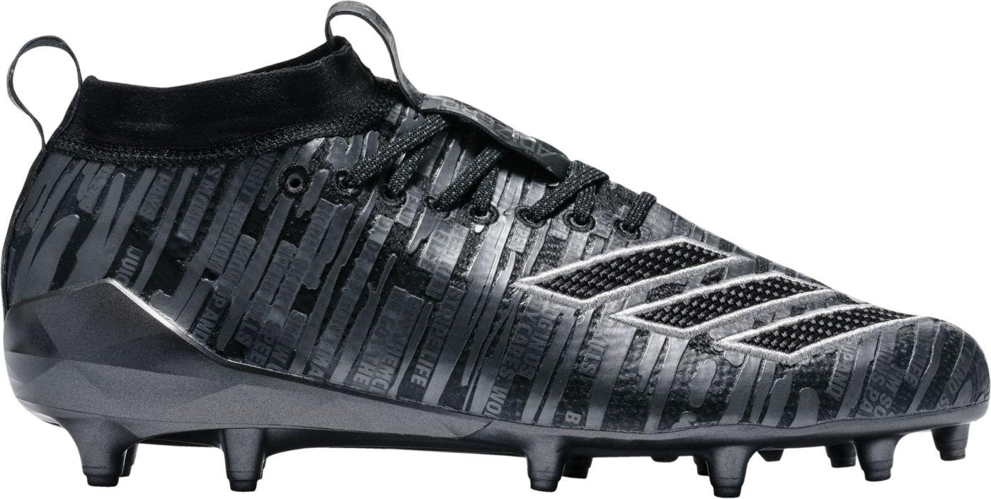 adidas Men's adizero 8.0 Three Stripe Life Football Cleats