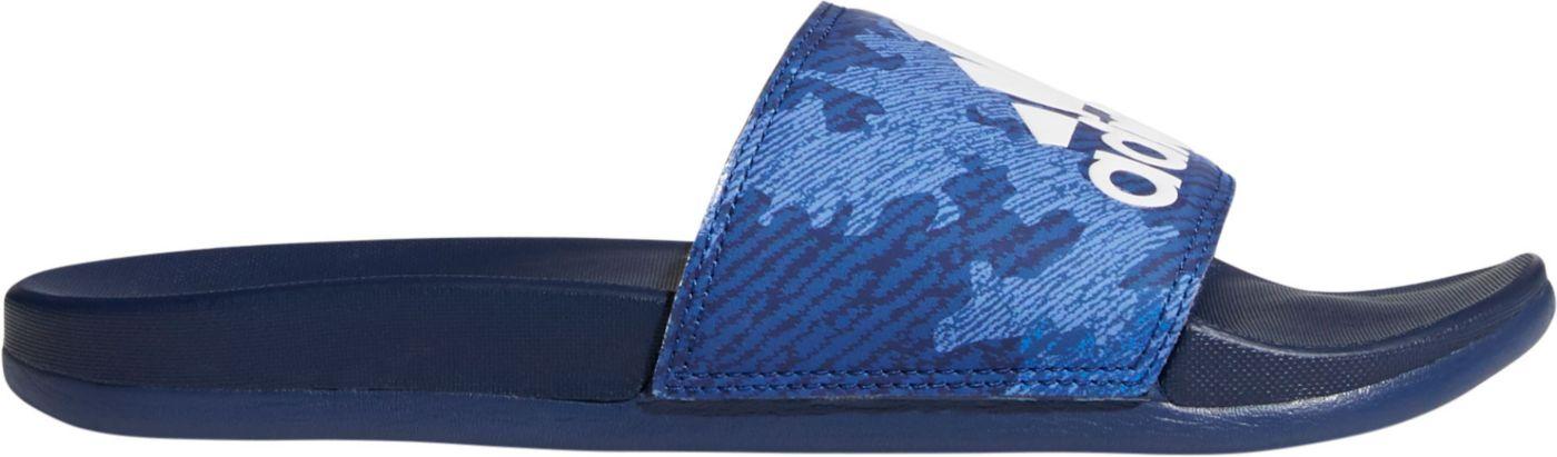 adidas Men's Adilette Comfort Camo Slides