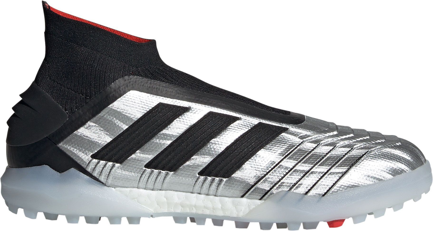 adidas Men's Predator 19+ Turf Soccer Cleats, Size: 10.5, Gray