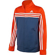 6bfe4caef Product Image · adidas Boys' Colorblock Tricot Jacket