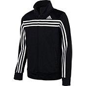 adidas Boys' Colorblock Tricot Jacket