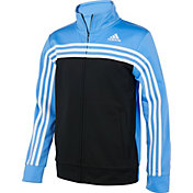 adidas Boys' Colorblock Tricot Jacket
