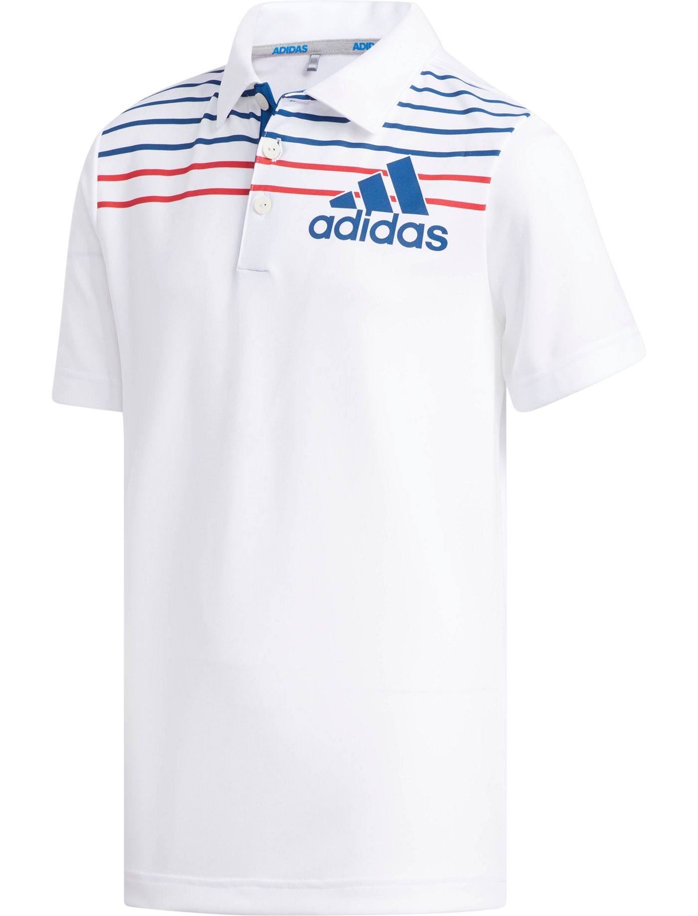 adidas Boys' Badge of Sport Golf Polo