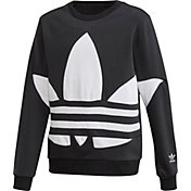 adidas Originals Boys' Big Trefoil Crew Sweatshirt