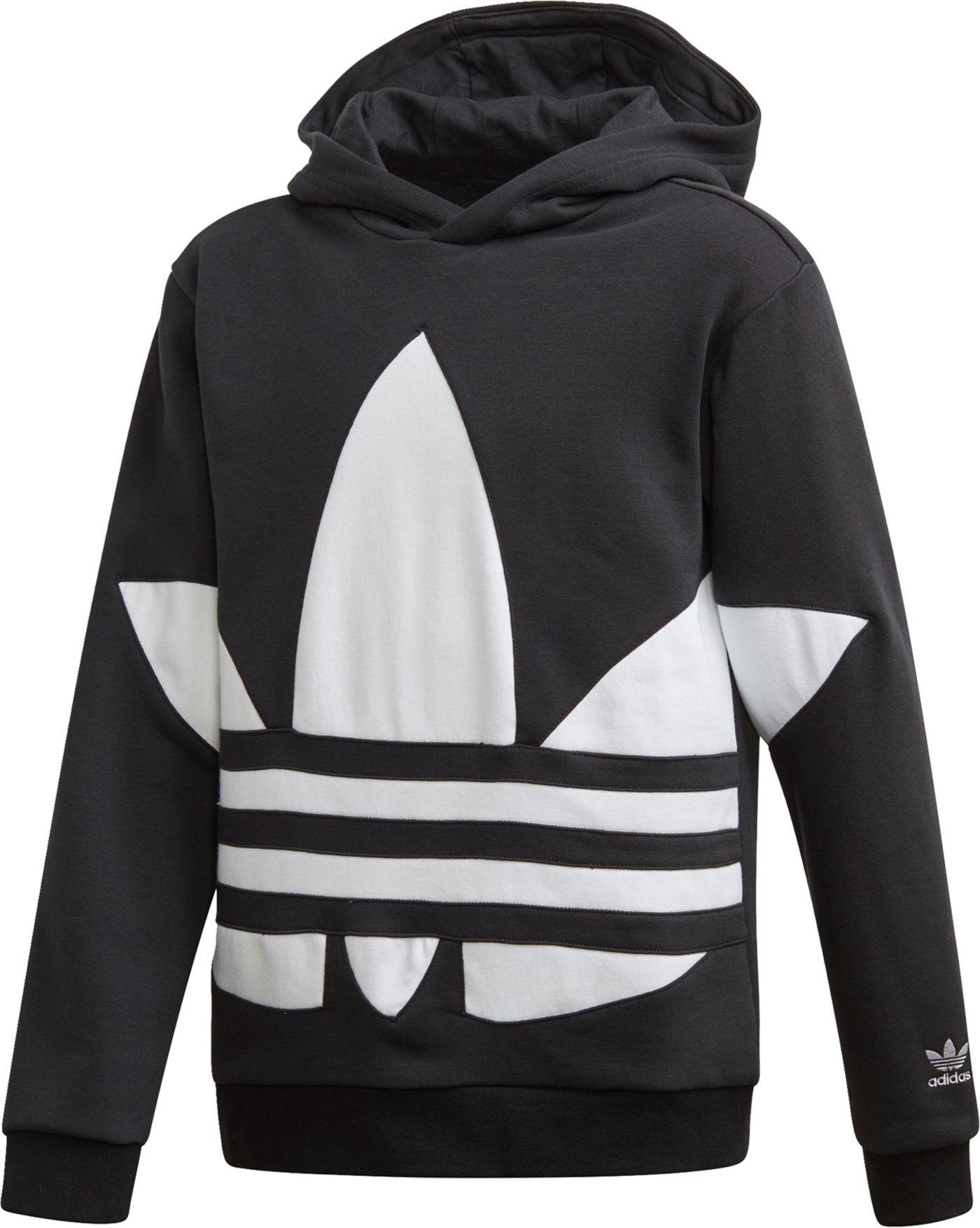 adidas Originals Boys' Big Trefoil Hoodie